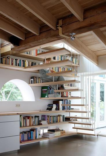 Knižnica v dome alebo v byte