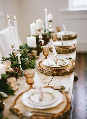 Vianočná dekorácia obývacej izby