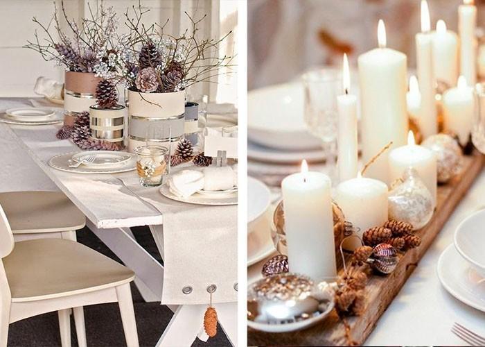Dekorácia vianočného stola