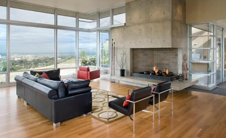 Betón ako súčasť interiéru