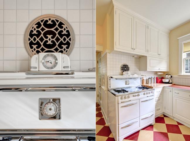 Kuchyňa v retro štýle