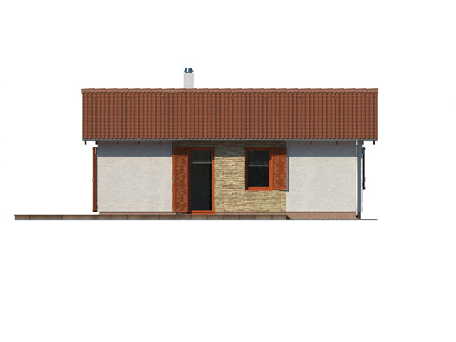 Dom na kľúč Bungalov 1070