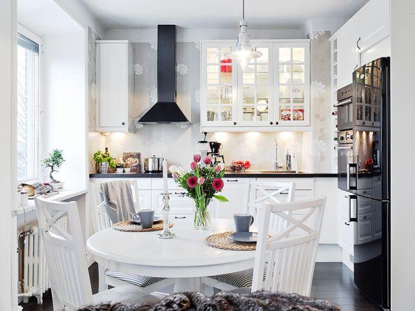 Kuchyne v škandinávskom štýle