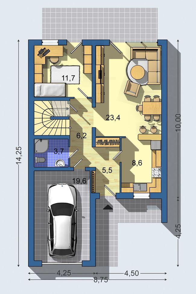 Rodinný dom Linia 300