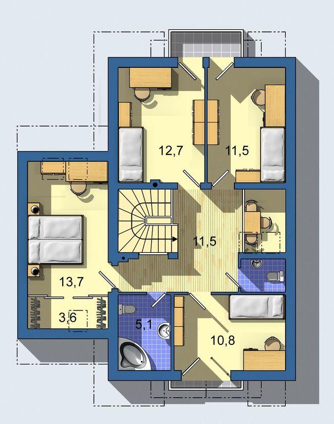 Rodinný dom Linia 654