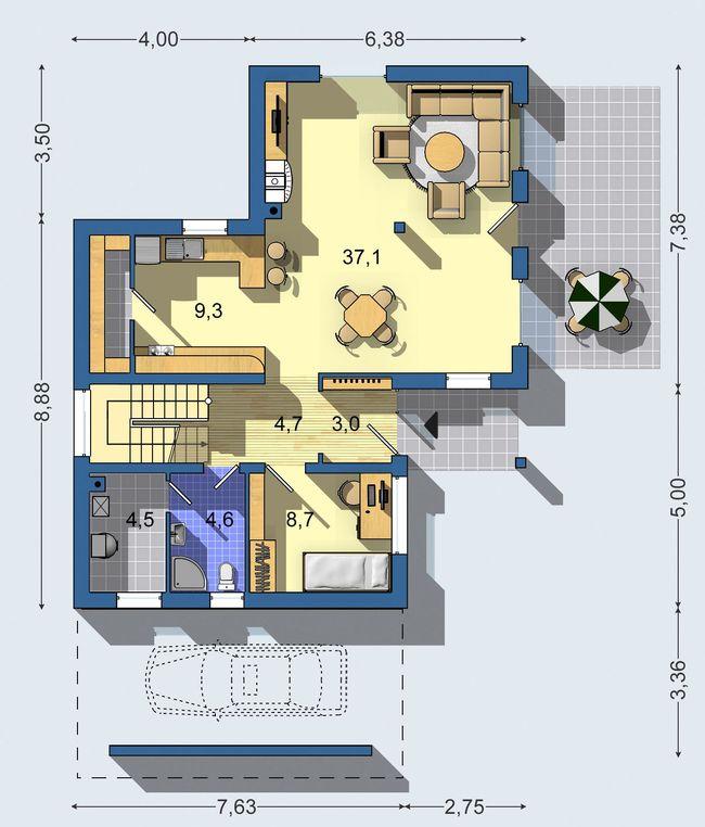 Rodinný dom Optimal 436