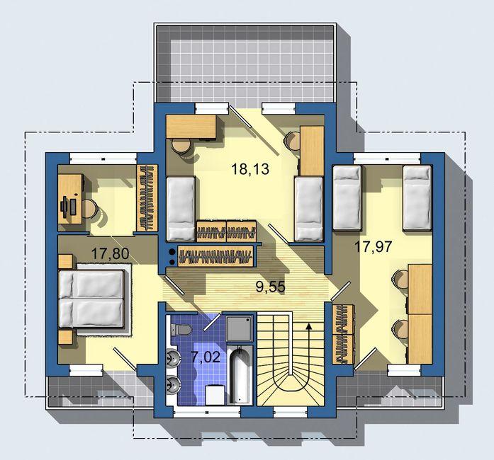 Rodinný dom Optimal 537