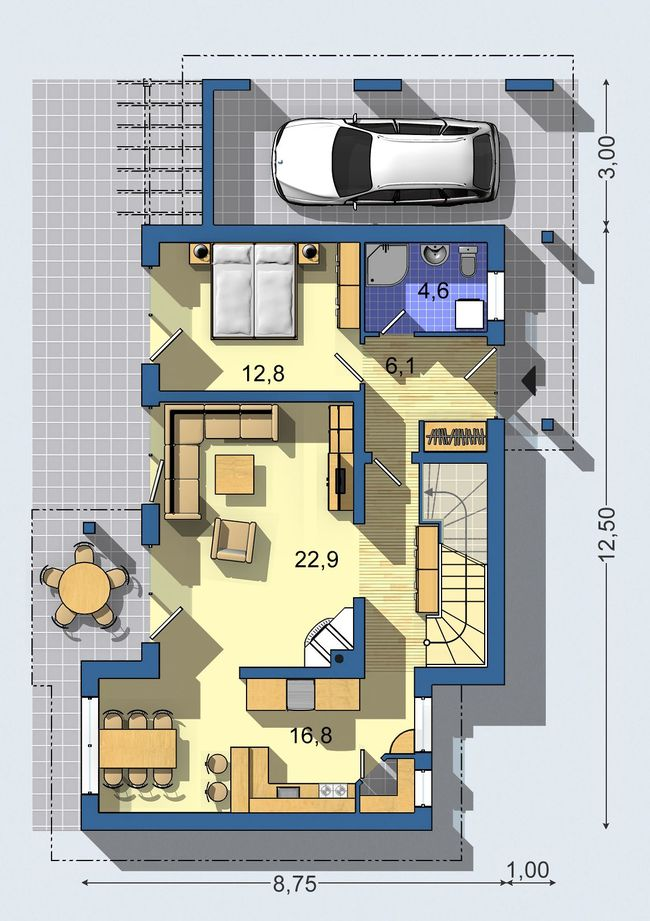 Rodinný dom Optimal 538