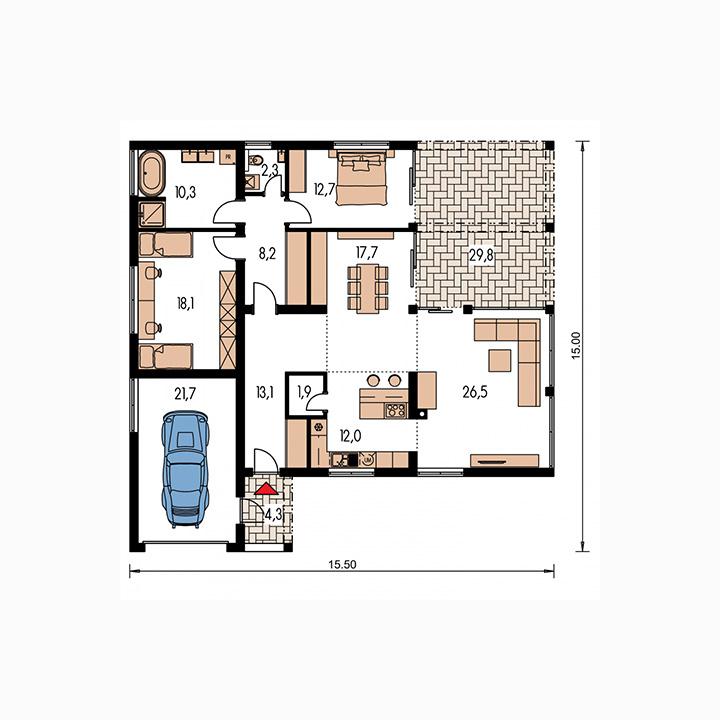 Rodinný dom Arkada 5