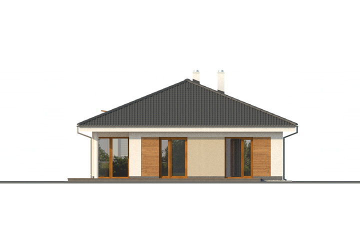Rodinný dom Bungalov 1079