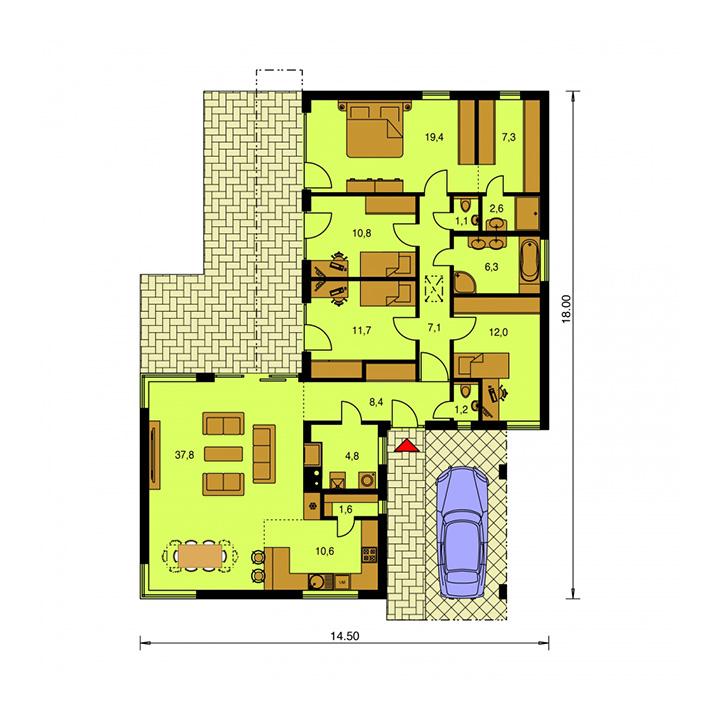 Rodinný dom Arkada 12