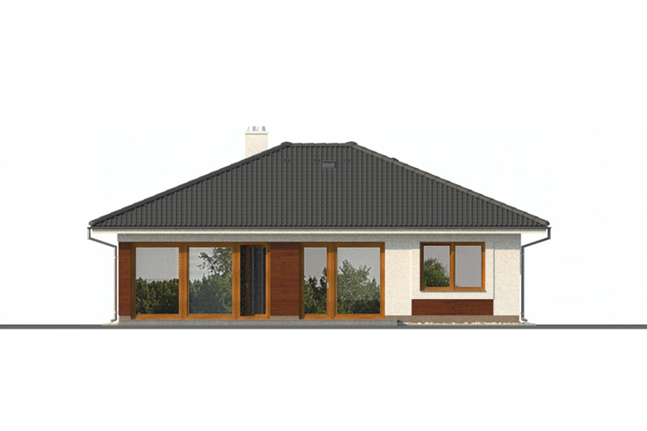 Rodinný dom Bungalov 1085