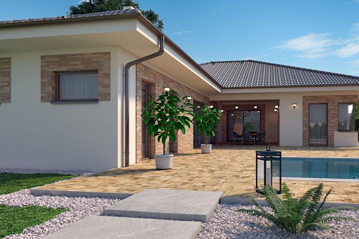 Rodinný dom Bungalow 205