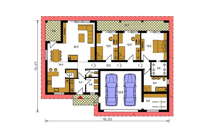 Rodinný dom Bungalow 201