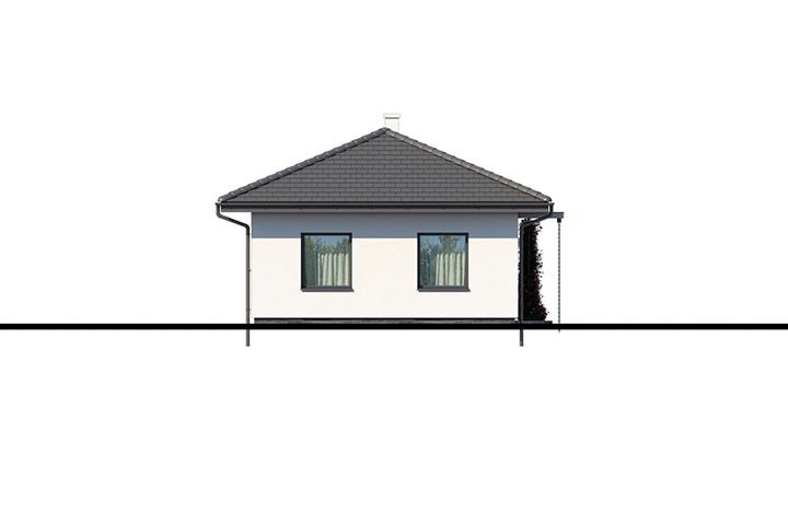 Rodinný dom Bungalow 200