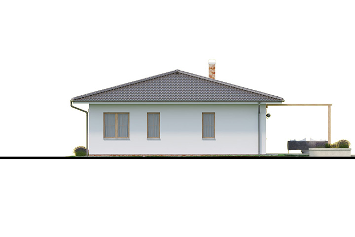 Rodinný dom Bungalow 197