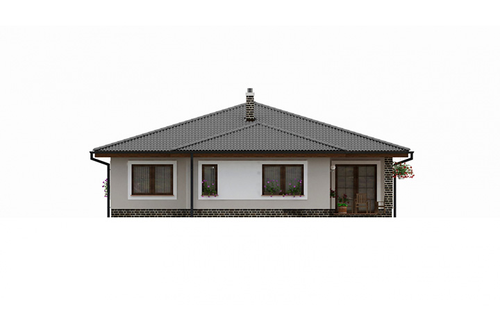 Rodinný dom Bungalow 132