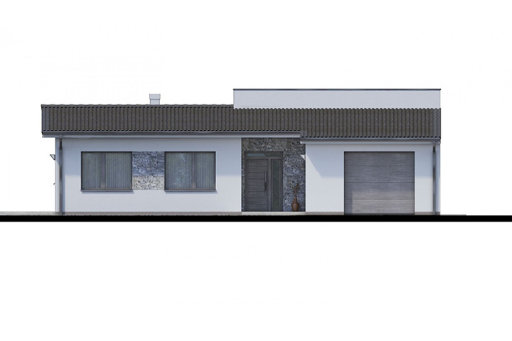 Rodinný dom Bungalow 166