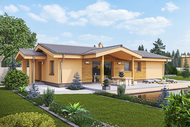 Rodinný dom Bungalow 169