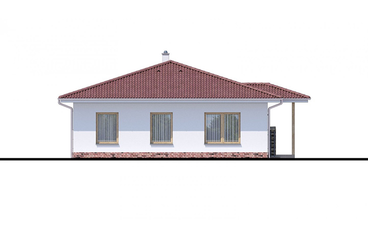 Rodinný dom Bungalow 177