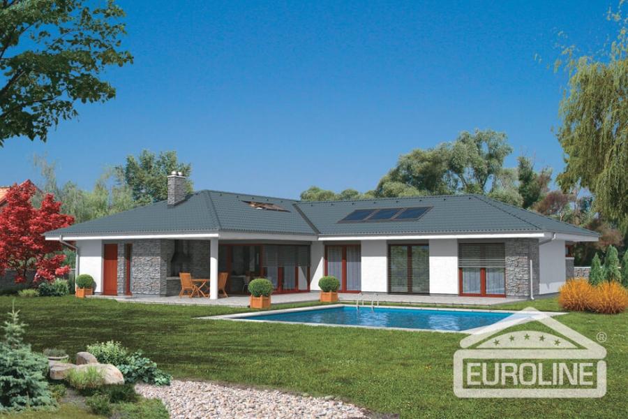 Rodinný dom Bungalov 772 XL