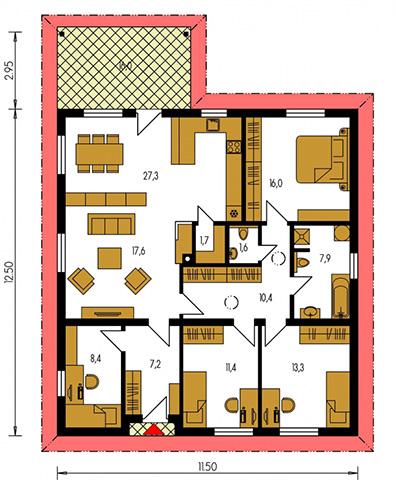 Rodinný dom Bungalow 189