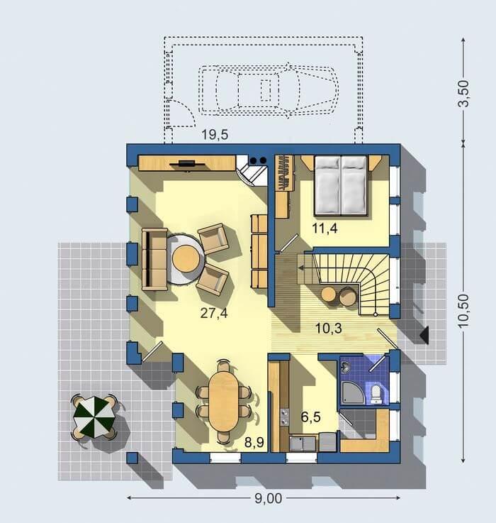 Rodinný dom Praktik 515