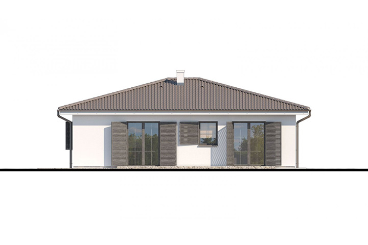Rodinný dom Bungalow 190