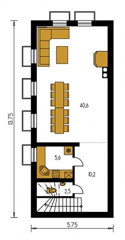 Rodinný dom Bungalow 9