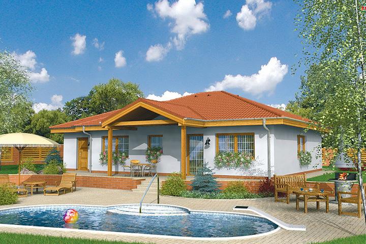 Rodinný dom Bungalow 12