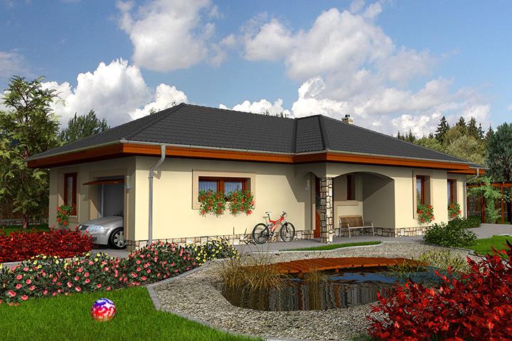 Rodinný dom Bungalow 21