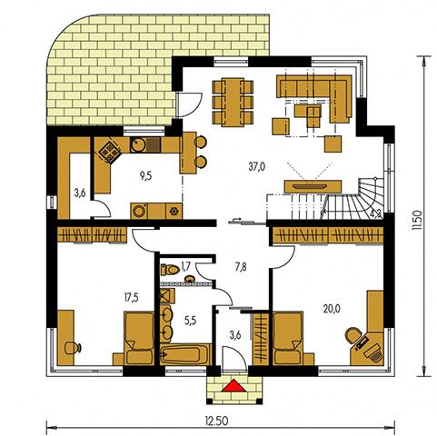 Rodinný dom Bungalow 33