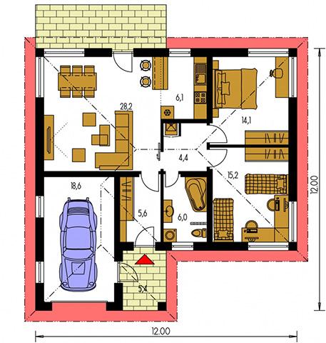 Rodinný dom Bungalow 34