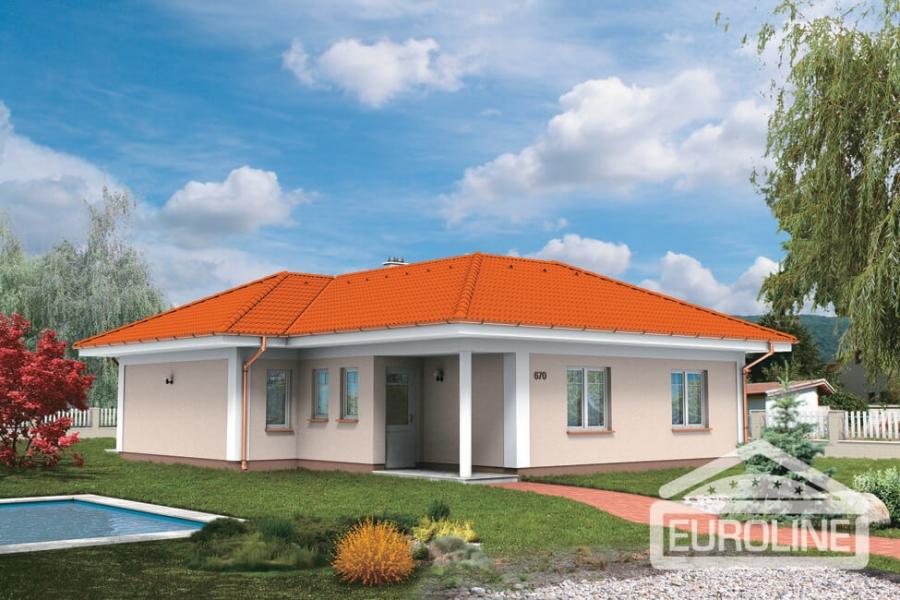 Rodinný dom Bungalov 670