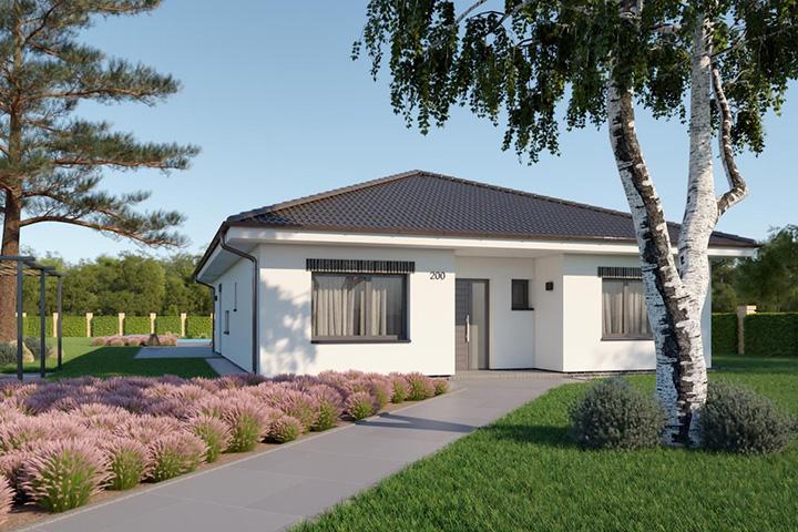 Rodinný dom Bungalow 210