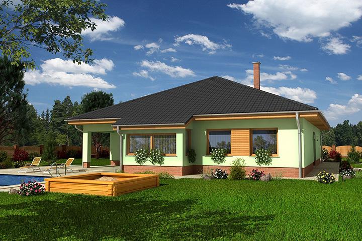 Rodinný dom Bungalow 45