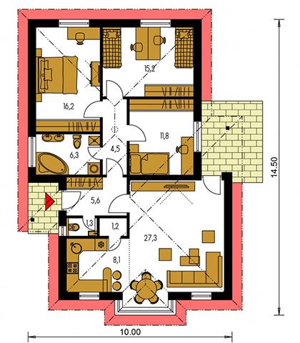 Rodinný dom Bungalow 59