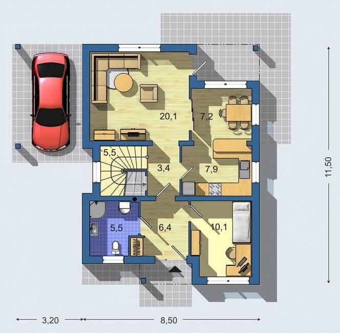 Rodinný dom Aktual 037