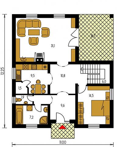 Rodinný dom Bungalow 78