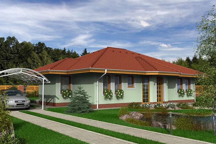 Rodinný dom Bungalow 79