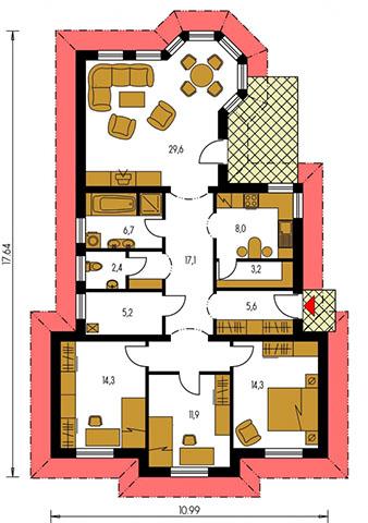 Rodinný dom Bungalow 85