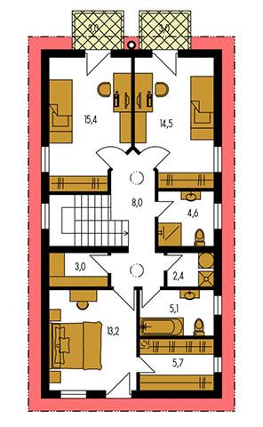 Rodinný dom Merkur 1