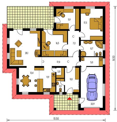 Rodinný dom Bungalow 93
