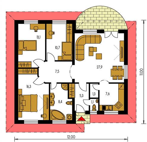 Rodinný dom Bungalow 94