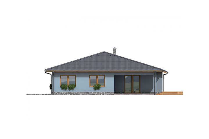 Rodinný dom Bungalow 117