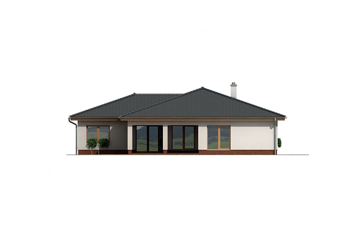 Rodinný dom Bungalow 131