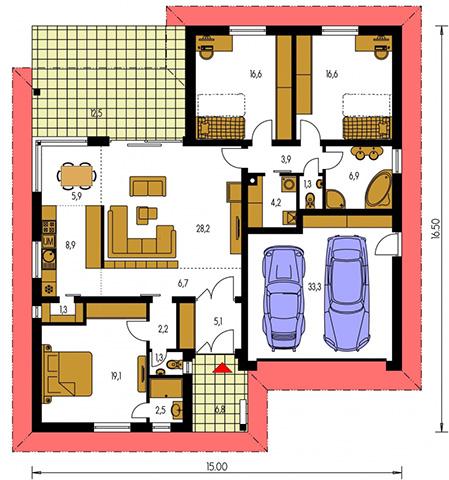 Rodinný dom Bungalow 138