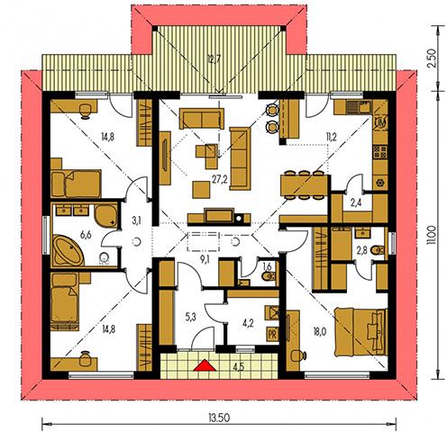 Rodinný dom Bungalow 193