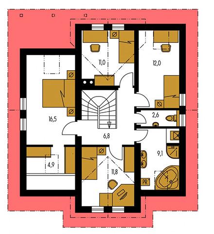 Rodinný dom Comfort 107