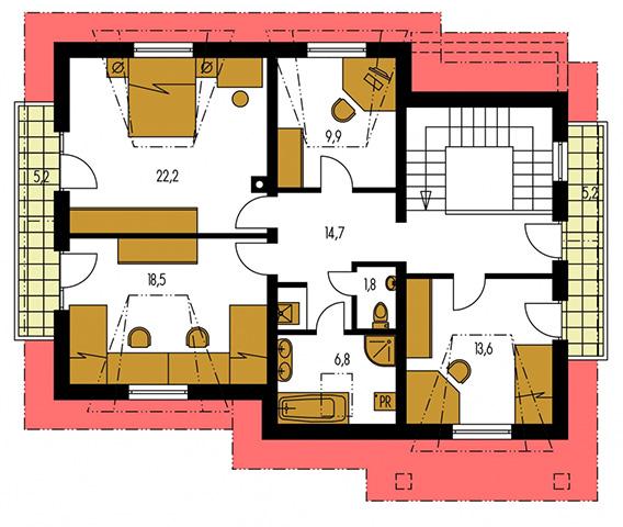 Rodinný dom Comfort 124